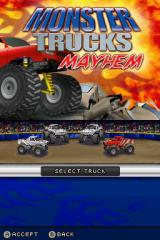 ATV: Thunder Ridge Riders / Monster Trucks Mayhem Nintendo DS Truck Select