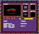 Moto Roader II TurboGrafx-16 Car Setup
