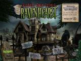 Mystery Case Files: Ravenhearst Macintosh Title / Main menu
