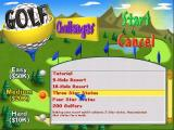Golf Resort Tycoon Windows The first screen of the Challenges menu. Whereas Instant Action is an open ended game the Challenges have an objective that is to be achieved