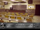 Daryl F. Gates' Police Quest: SWAT DOS Orientation room (empty).