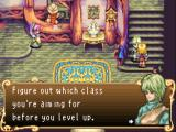 Sword of Mana Game Boy Advance 5 classes to choose from... upgrade in one or a combination