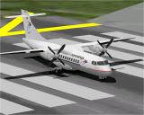Airport 2000: Volume 1 Windows The supplied ATR42 prior to take-off