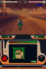 Biker Mice from Mars Nintendo DS First Level includes Bike Riding with Great Draw Distance