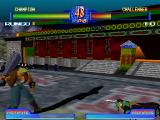 Battle Arena Toshinden 2 Windows Rungo's large club knocks Fo down