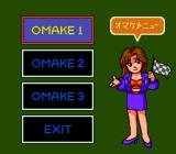 "Motoroader MC TurboGrafx CD Multiplayer mode is called ""omake"" for some reason"
