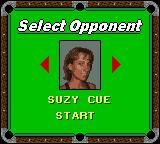 Jimmy White's Cueball Game Boy Color Select opponent