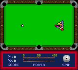 Jimmy White's Cueball Game Boy Color The break