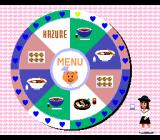 No・Ri・Ko TurboGrafx CD Press a button to stop the wheel to order food