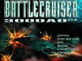 Battlecruiser 3000AD DOS Main menu