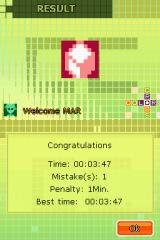 Color Cross Nintendo DS Level Results