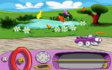 Putt-Putt Joins the Parade DOS Clicking on backgrounds has a lot of fun