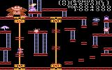 Donkey Kong Atari 7800 Level two can be tricky