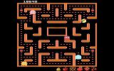 Ms. Pac-Man Atari 7800 Gameplay on one of the later levels