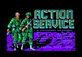 Combat Course Amstrad CPC Title screen and credits