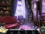 Mystery Case Files: Dire Grove (Collector's Edition) Macintosh Living room area - objects -a ghost quickly appears and vanishes in the window