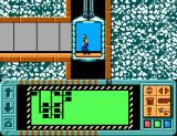 Impossible Mission SEGA Master System Exploring the corridors