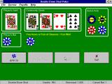The 5-Card Poker Collection Windows 3.x Double-Down Stud Poker