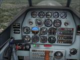 Microsoft Flight Simulator X: Acceleration Windows The North American P-51 Mustang instrument panel