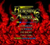 Burning Angels TurboGrafx-16 Title screen