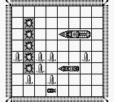 Battleship: The Classic Naval Combat Game Game Boy Enemy sunk my ship
