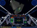 Star Wars: X-Wing (Collector's CD-ROM) Windows Attacking Imperial Star Destroyer's hangar.