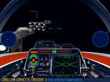 Star Wars: X-Wing (Collector's CD-ROM) Windows Escorting corvettes to the hyperspace point..