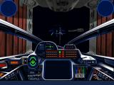 Star Wars: X-Wing (Collector's CD-ROM) Windows B-Wings are leaving construction facility during Imperial raid.