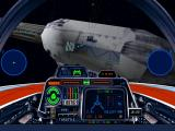 Star Wars: X-Wing (Collector's CD-ROM) Windows View on Frigate's hangar.