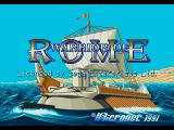 Warrior of Rome Genesis Title Screen