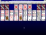 FreeCell Plus Windows 3.x Sea Towers (on version 2.1)