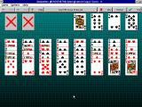 FreeCell Plus Windows 3.x Stalactites (on version 2.1)