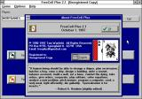 FreeCell Plus Windows 3.x Help/About (version 2.1)