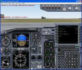 AETI ProFlight 2000 Windows The adventure loads. From here the simulator plays it as a standard adventure with lots of Air Traffic Control instructions coming through the headphones