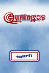 Curling DS Nintendo DS Title screen