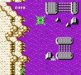 Super Star Force: Jikūreki no Himitsu NES A big green enemy ship