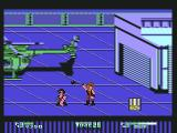 Double Dragon II: The Revenge Commodore 64 Using a ball and chain against your enemy