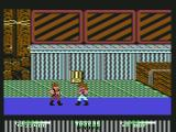 Double Dragon II: The Revenge Commodore 64 Stage 2