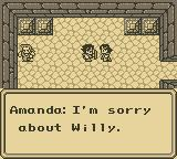 Final Fantasy Adventure Game Boy Willy, hero's friend, is dead.