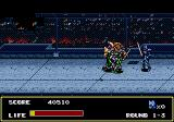 Mazin Saga: Mutant Fighter Genesis third level