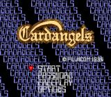 Cardangels TurboGrafx CD Title screen