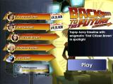 Back to the Future: The Game - Episode 3: Citizen Brown iPad Main menu