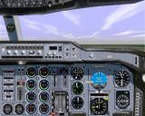 Airbus 2000 (Special Edition) Windows The Airbus A300B2-101 in Microsoft Flight Simulator 98 right cockpit view