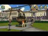 Back to the Future: The Game - Episode 3: Citizen Brown iPad Lorraine cleaning the Hill Valley square courtyard statue