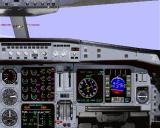 Airbus 2000 (Special Edition) Windows The right hand cockpit view of the Swissair Airbus A319-111 in Microsoft Flight Simulator 98. The cockpit layout does vary from one model to another, compare with the Airbus A300B2-101