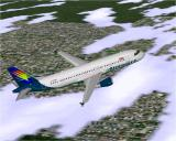 Airbus 2000 (Special Edition) Windows Airtours Airbus A320-231 in Microsoft Flight Simulator 98