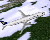 Airbus 2000 (Special Edition) Windows Lufthansa's Airbus A321-131 in Microsoft Flight Simulator 98