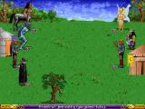 Heroes of Might and Magic Windows Battle - easy, dwarves are strongest enemies.