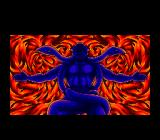 Color Wars TurboGrafx CD ...and the result is a scary demon...