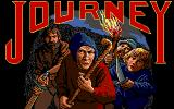 Journey: The Quest Begins DOS Title screen